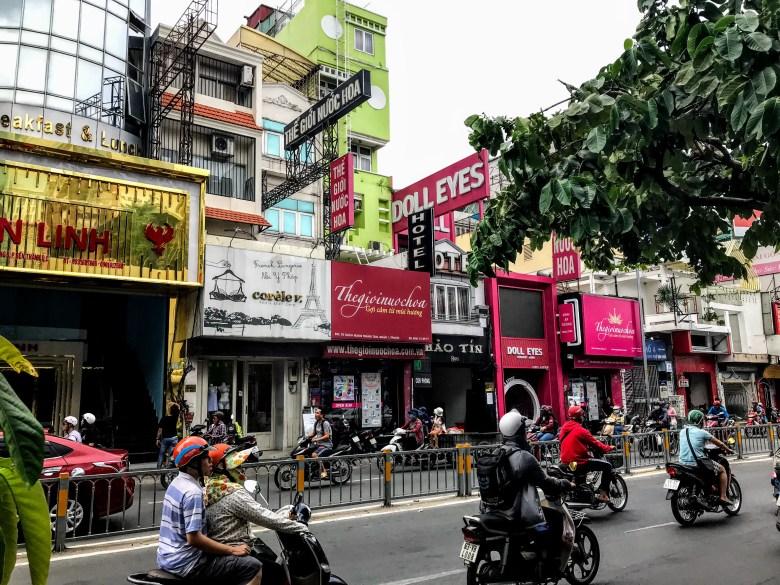 Sex shops, Ho Chi Minh City, Vietnam