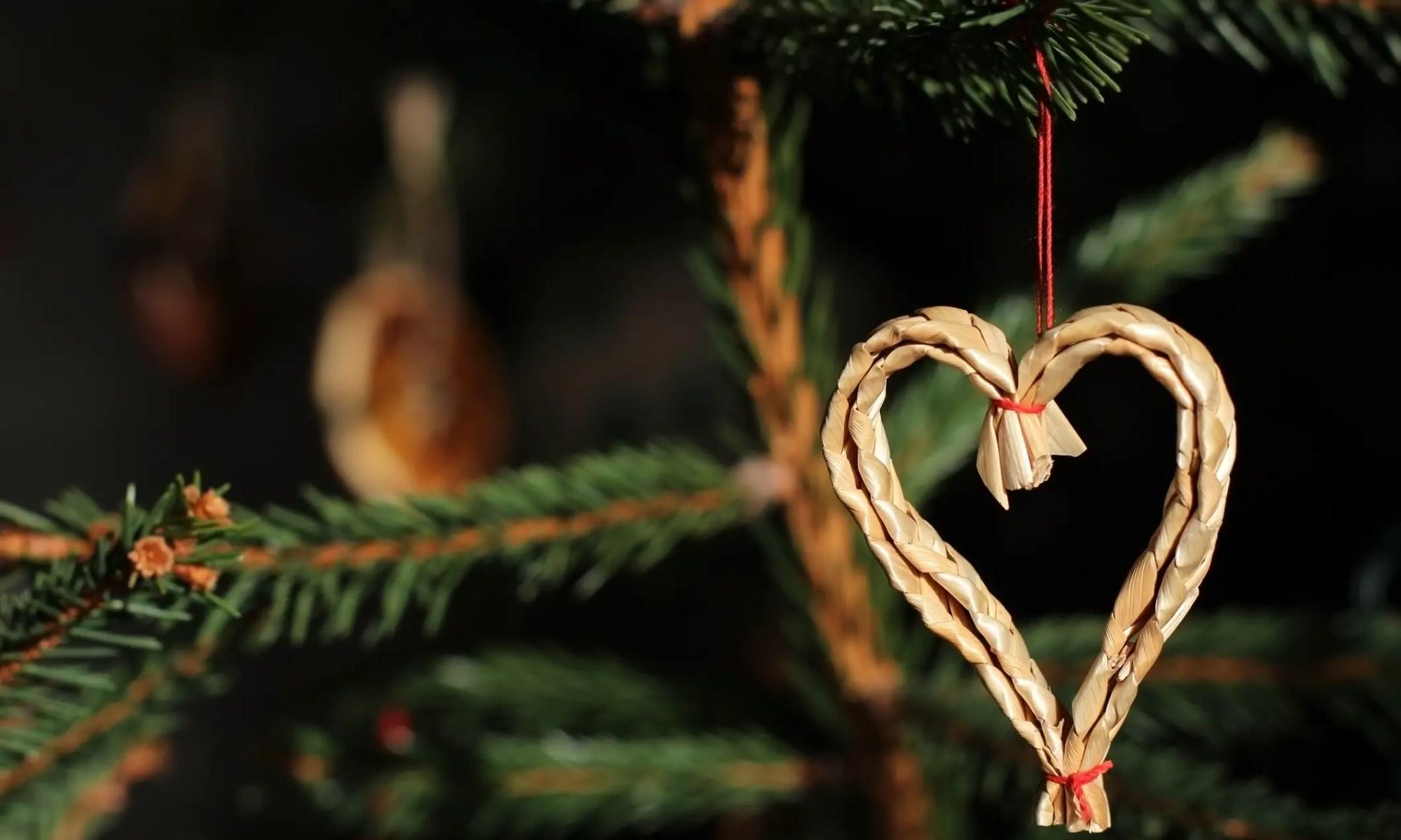 Eco-friendly Christmas decoration