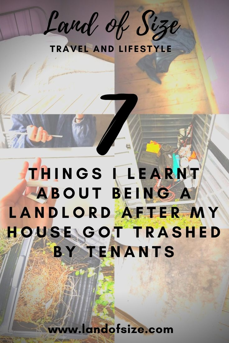 7 things I learnt about being a landlord after my house got trashed by tenants