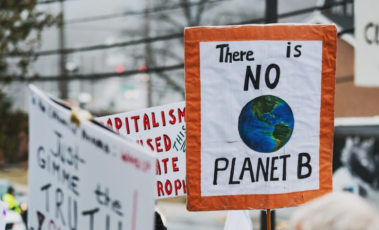 Climate change protest, iStock