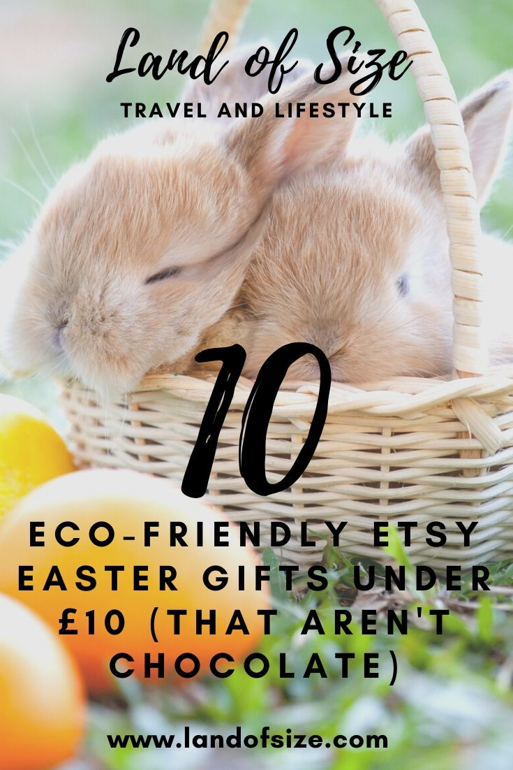 10 eco-friendly Etsy Easter gifts under £10 (that aren't chocolate)