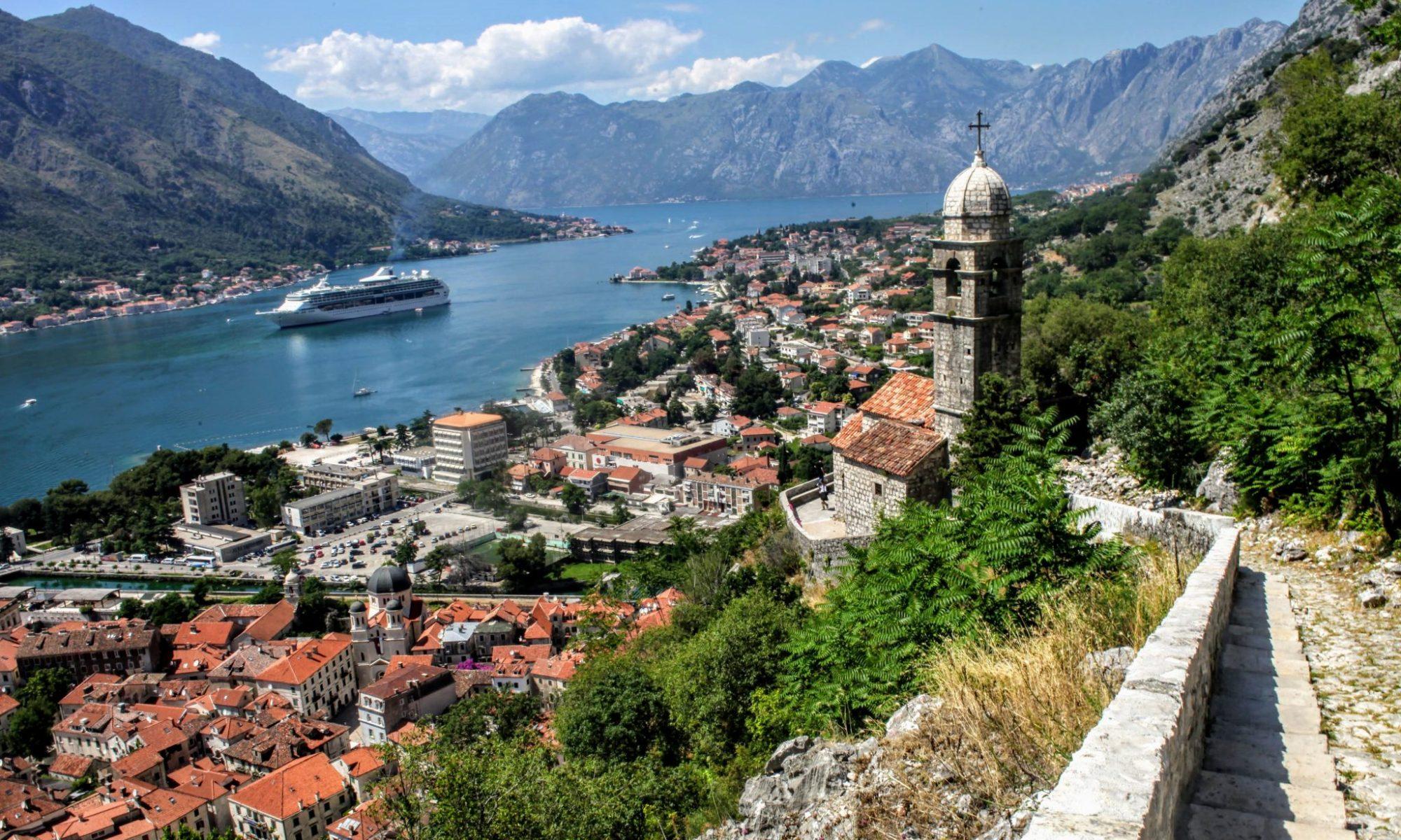 Cruise ship in Kotor, Montenegro