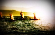 Viking fleet
