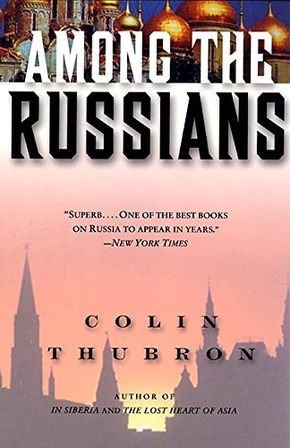 A picture of the book Among the Russians by Colin Thurbron