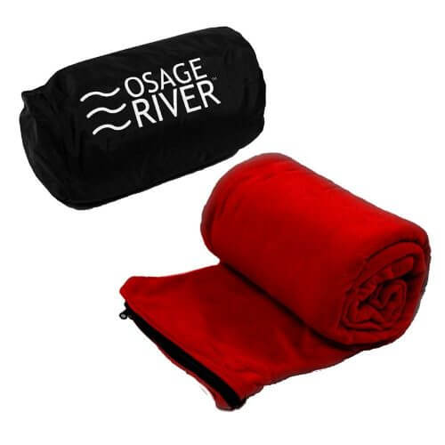 A picture of a sleeping bag liner by Osage River