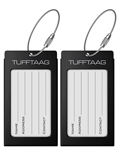 TUFFTAG Travel ID bag tag
