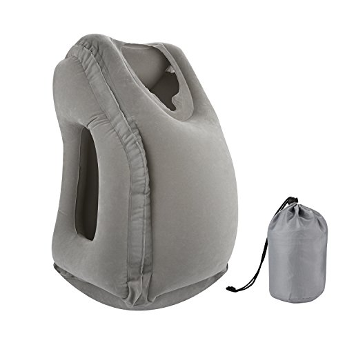 8. Inflatable Travel pillow by Simptech