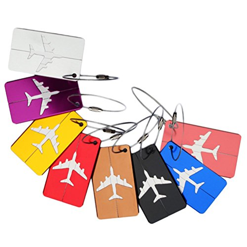 Nuolux Baggage Tags are shown here