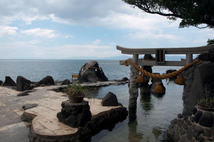 Furusato Onsen, Sakurajima Japan