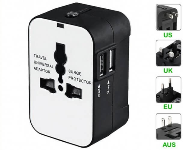7. Travel Inspira All in One Worldwide Travel Power Plug