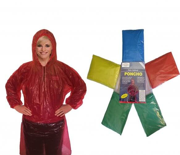 10. Living Better Outdoors Disposable Rain Poncho