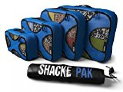 An image of 4 packing cubes by Shacke Pak