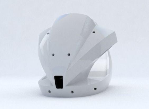 Desarrollo de productos modelo en fibra de vidrio para simulador de manejo