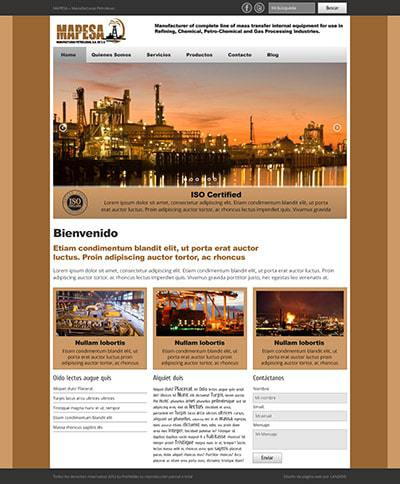 Página Web Mapesa