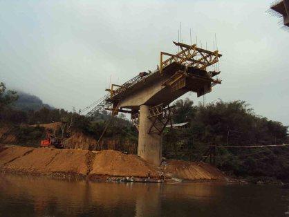 New bridge in construction
