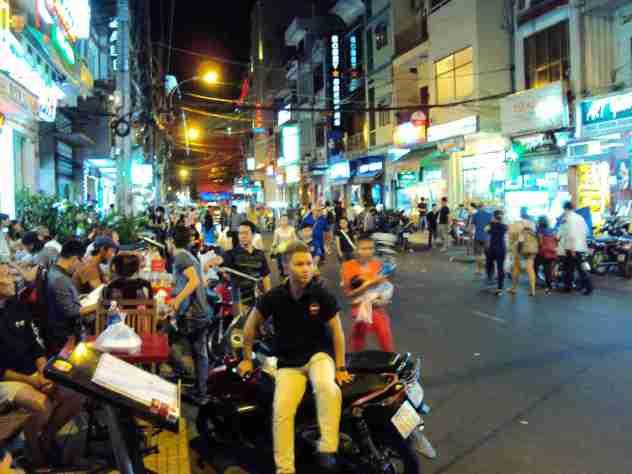 Nachtleben in Saigon