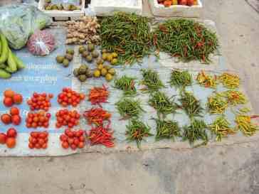 Ordnung beim Gemüse