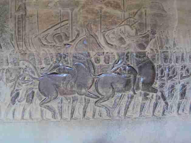 wunderbare Reliefs