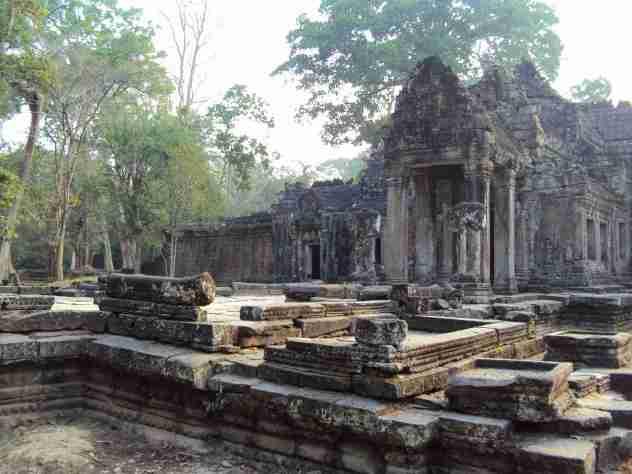 Verfallene Tempel