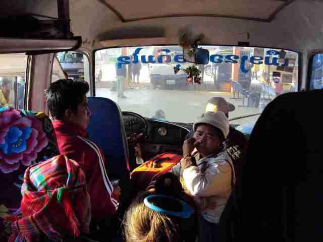 Bus nach Muang Khoua