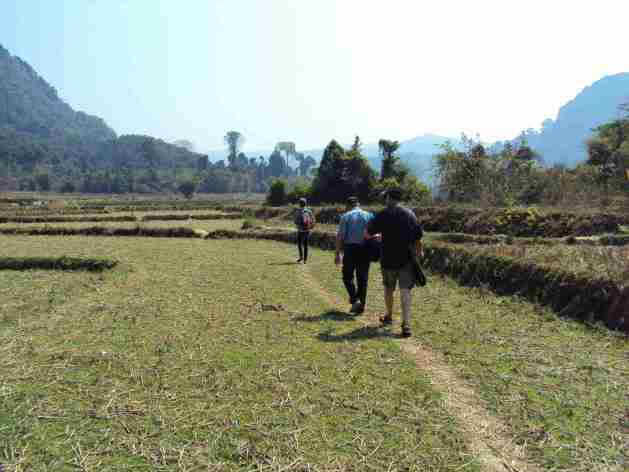 Spaziergang ins nächste Dorf