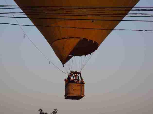 Ballonfliegen