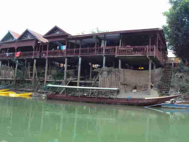 Häuser am Mekong