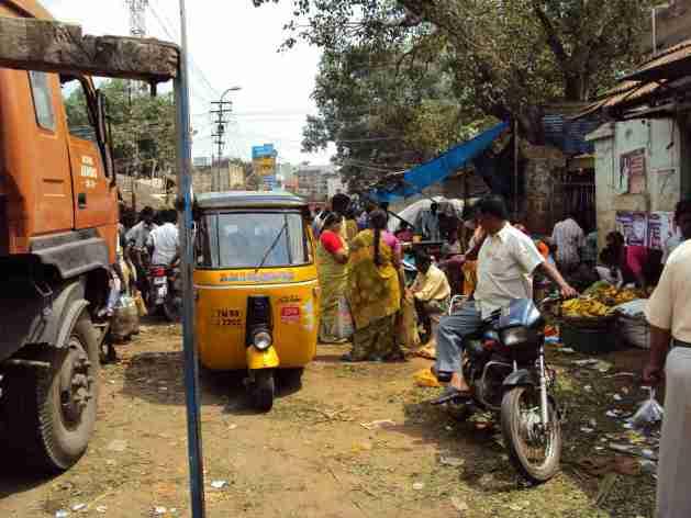 Strassenszene in Madurai