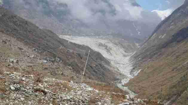 Langtang Bergsturz