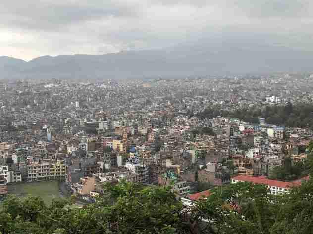 Kathmandu von oben