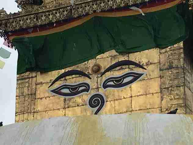 Augen des Buddha