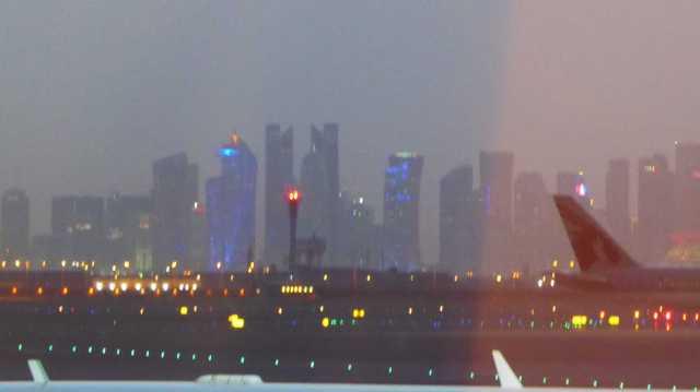 Doha - falling Night