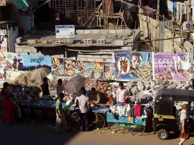 Gewühl in Mysore