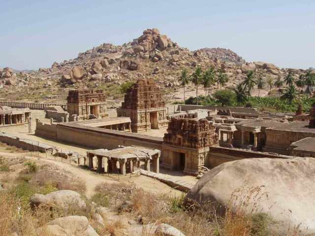 Hampi from above