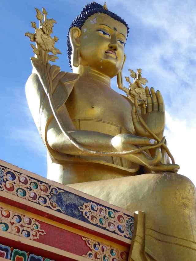 Buddha on the roof