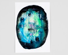 Remember the Universe Loves You