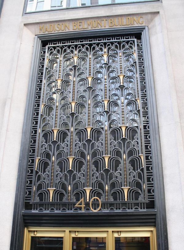 Art Deco In York City Land Perspectives