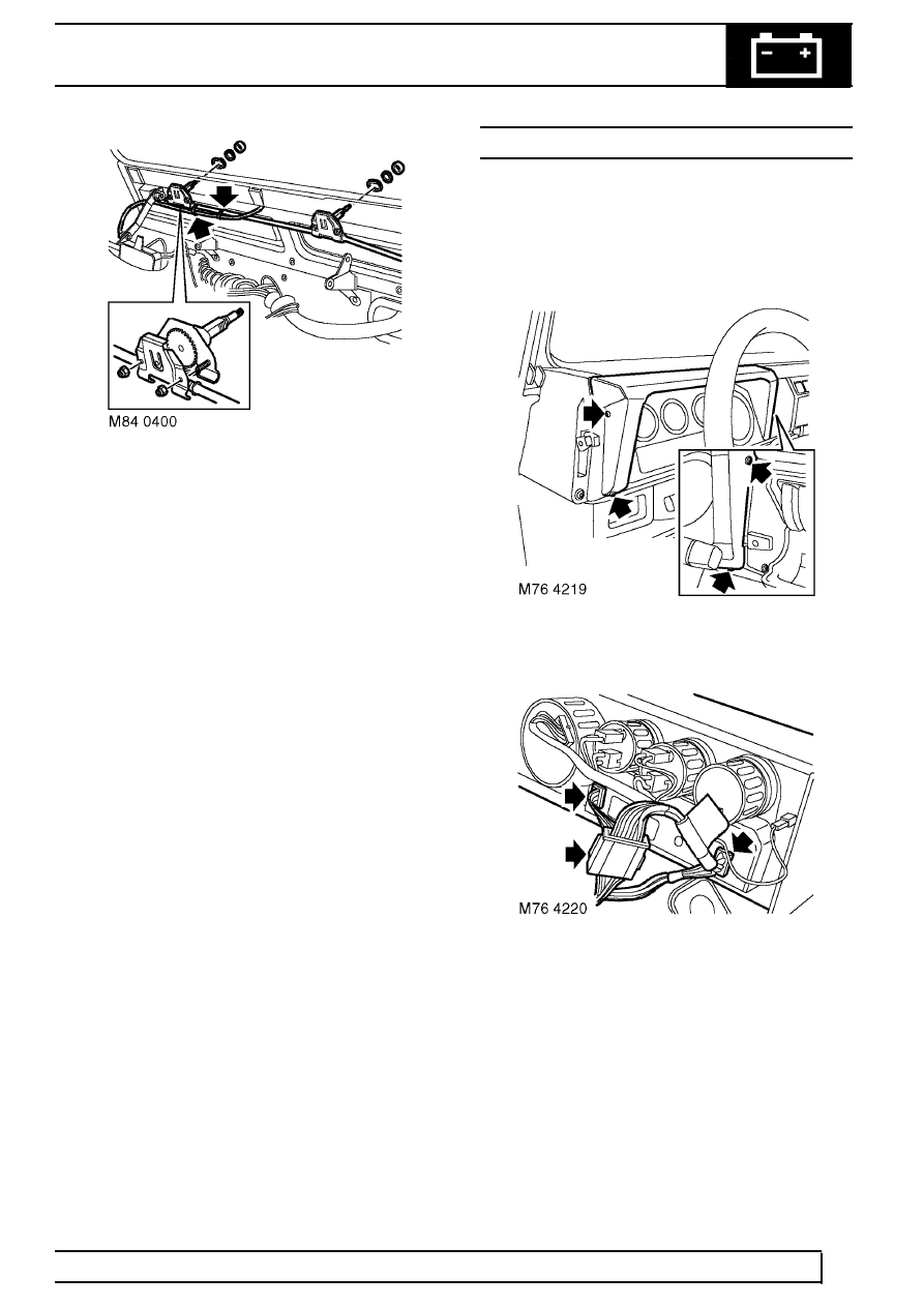 Land Rover Workshop Manuals > TD5 Defender > WIPERS AND