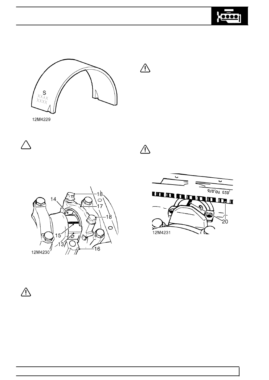 Land Rover Workshop Manuals > Range Rover P38 > 12