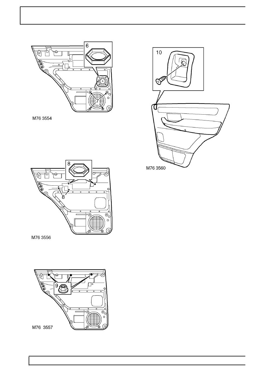 Land Rover Workshop Manuals > Range Rover P38 > 76