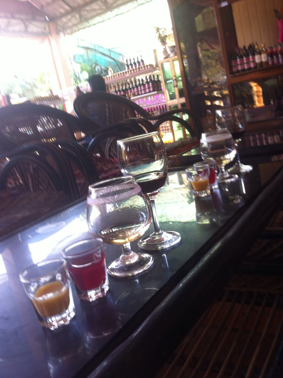 Wine tasting in South East Asia – an ongoing endurance