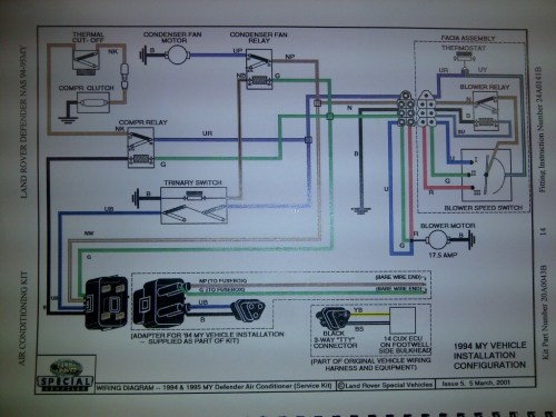 small resolution of 1994 d 90 ac issue help please land rover forums land rover rh landroverforums com 1994 1994 defender 90 wiring diagram