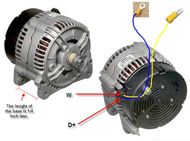 Pics Photos Wiring Diagram For Bosch Alternator Internally Regulated