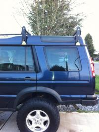 Land Rover discovery 2 roof rack solution