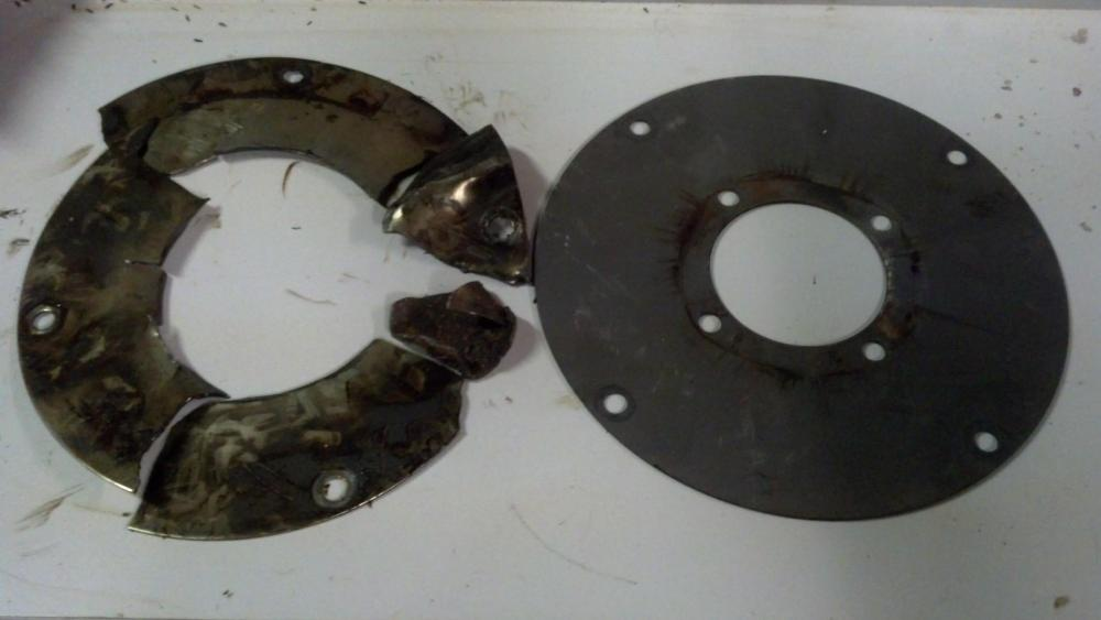 medium resolution of  flex plate failure write up transmission to engine tear down and re