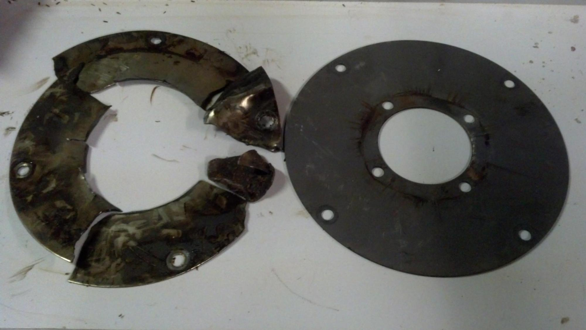 hight resolution of  flex plate failure write up transmission to engine tear down and re