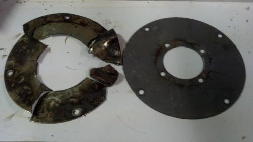 small resolution of  flex plate failure write up transmission to engine tear down and re