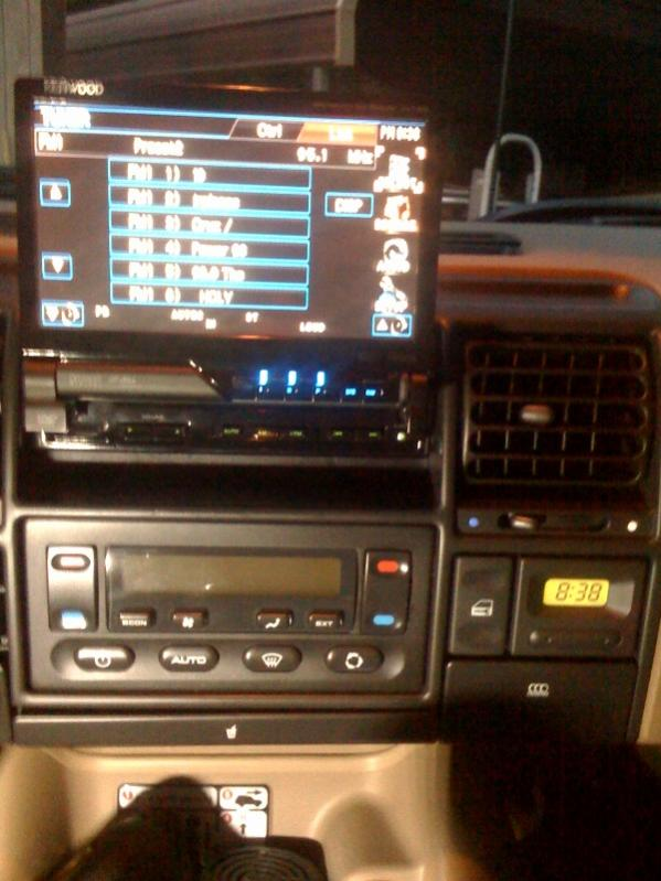 Aftermarket Stereo Installation