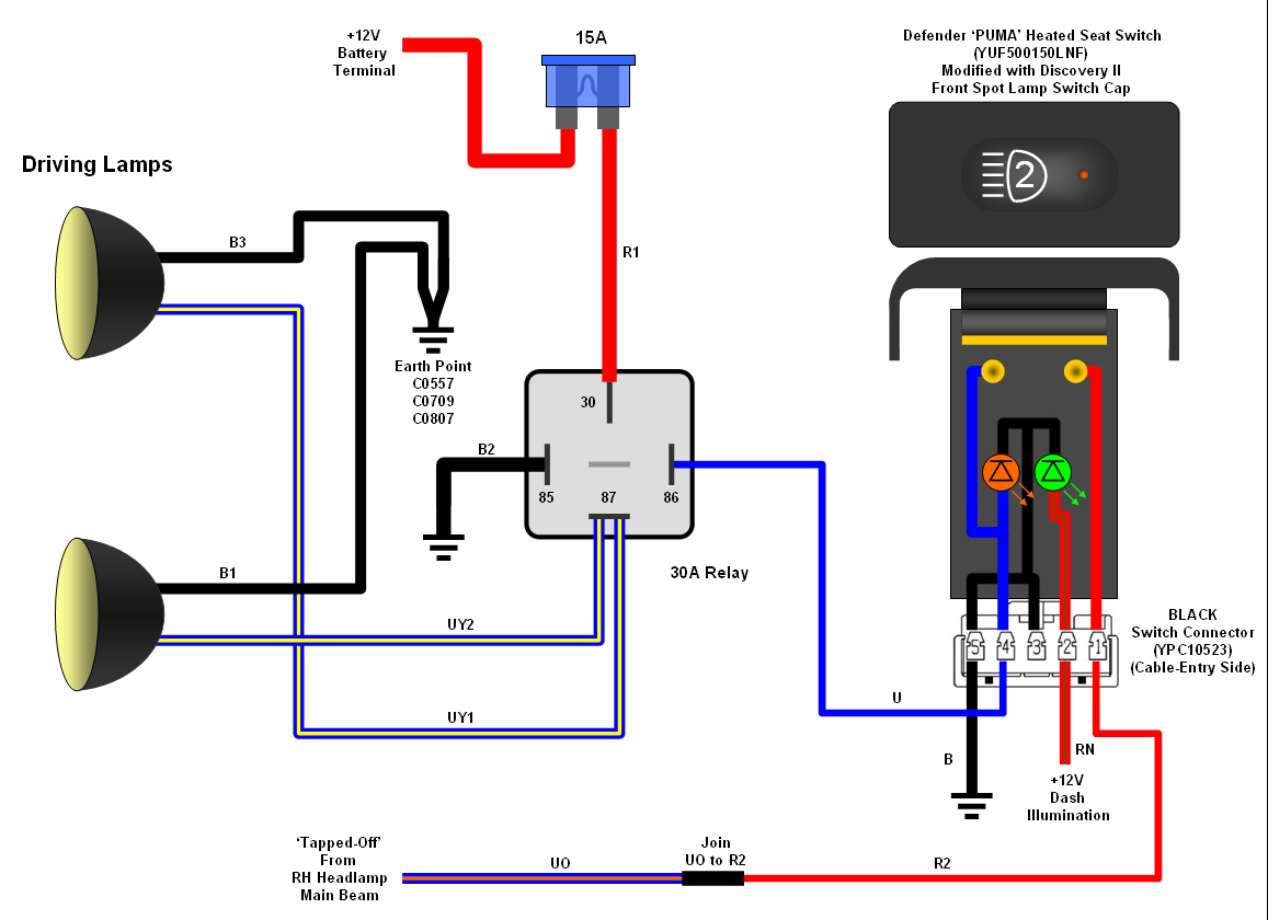 hight resolution of auxiliary lights wiring for jeep