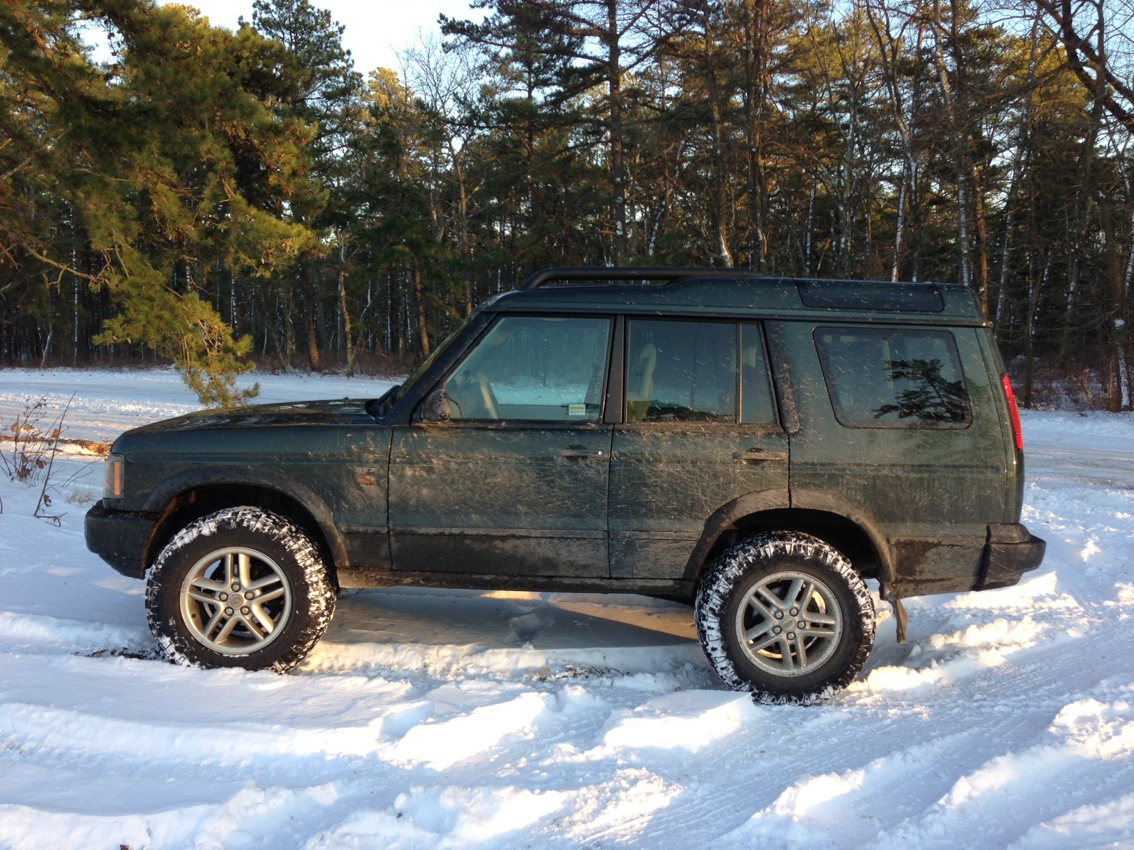 Lift kit and Tires installed Land Rover Forums Land Rover
